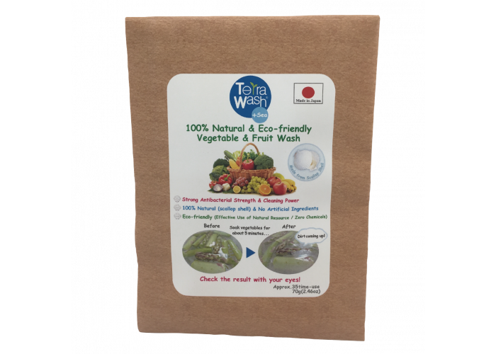 Terra Wash+Sea,100% Natural & Eco-friendly, pentru spălat legume